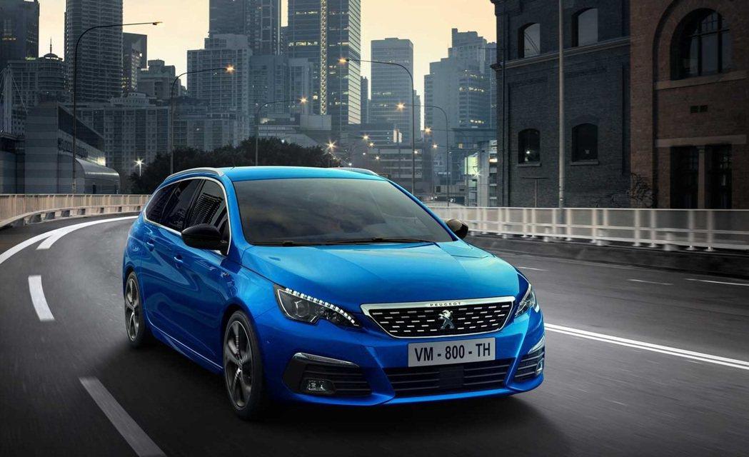 2021 Peugeot 308。 摘自Peugeot