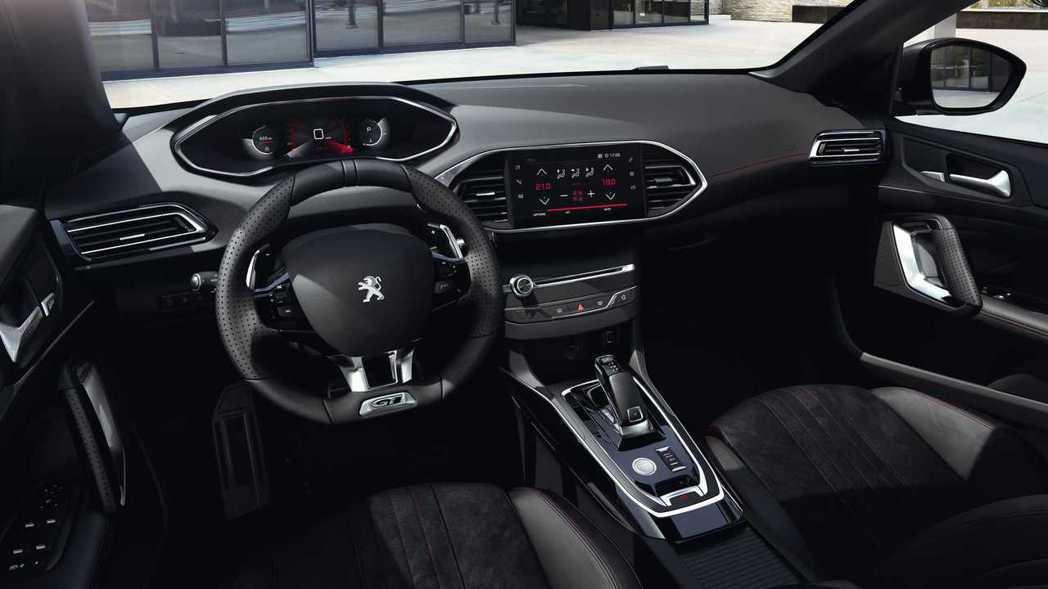 2021新年式Peugeot 308內裝。 摘自Peugeot