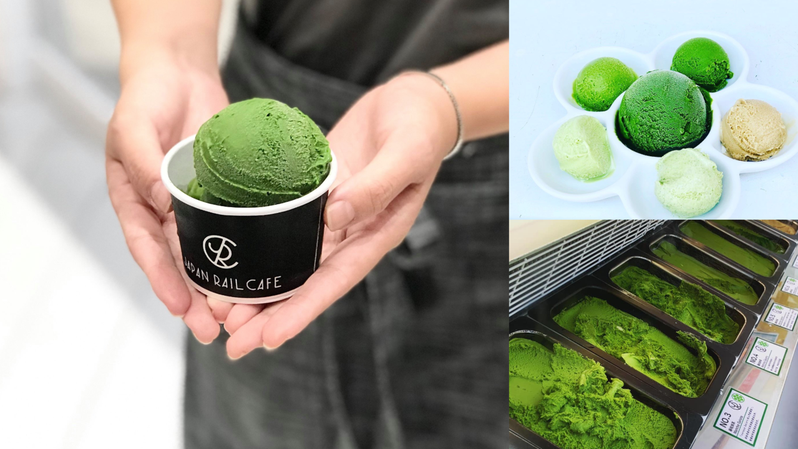 nanaya POPUP快閃店進駐板橋,吸引大批抹茶控前往品嚐。 圖/JAPAN RAIL CAFE Taipei臉書粉專
