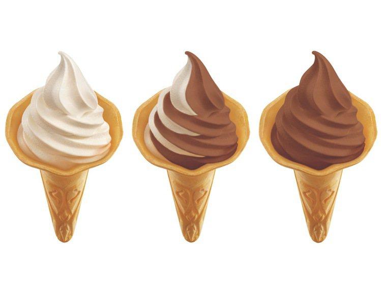 7-ELEVEN即日起至6月30日推出牛奶、巧克力、綜合口味霜淇淋,特價29~3...