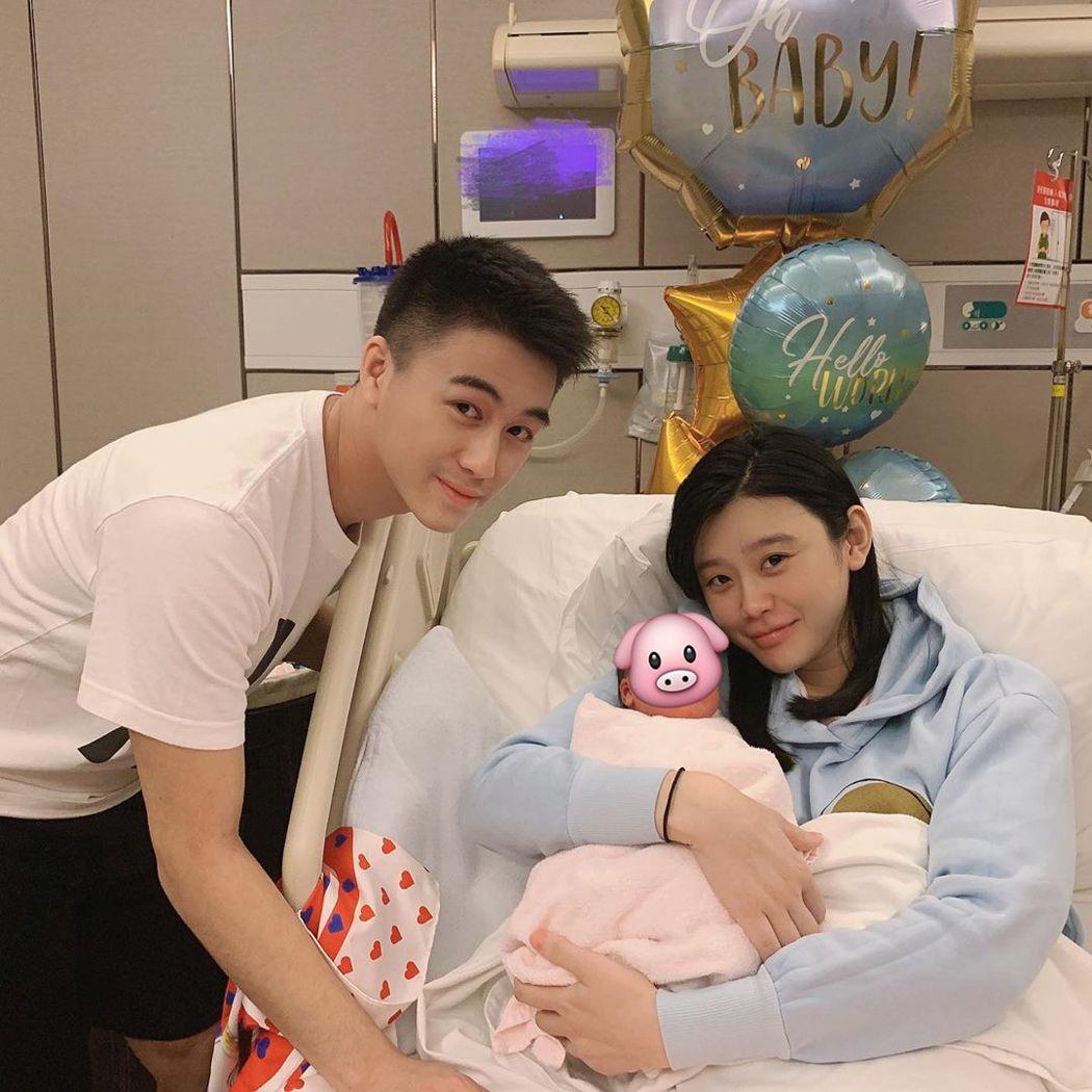 何猷君與奚夢瑤已生一子,近來又被傳有第二胎。圖/摘自Instagram