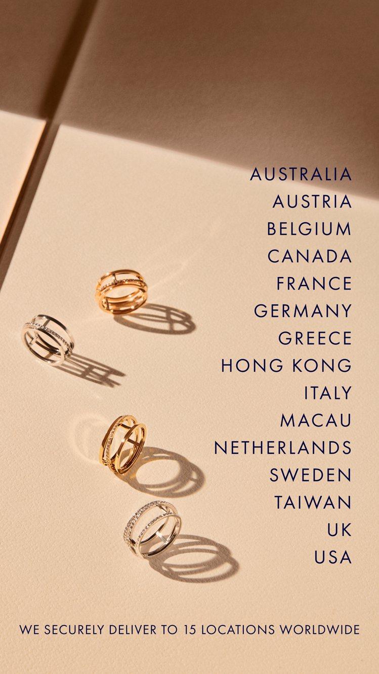 顧客可於De Beers官方網站購買到高至售價25萬美金以內的珠寶作品。圖/De...
