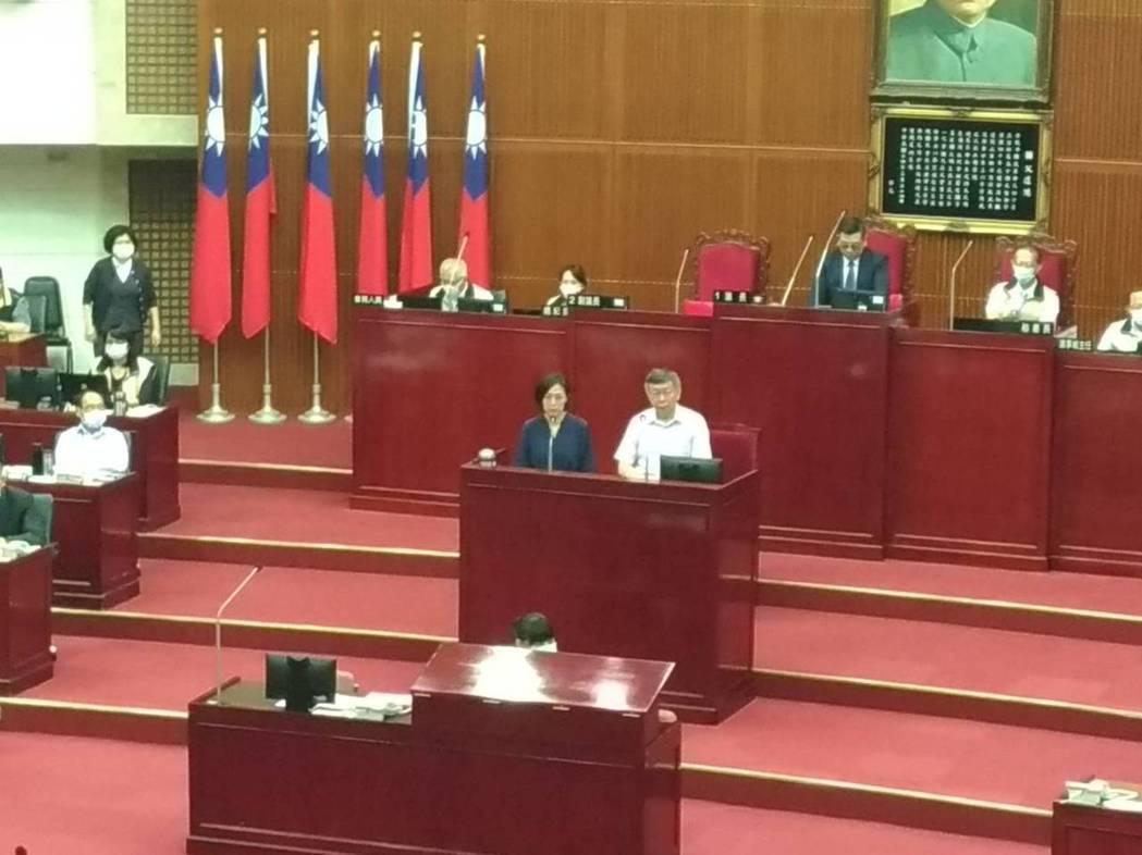 北流董事長黃韻玲表示,因疫情,北流延到9月5日開幕,8月會先進行滿載測試,但因疫
