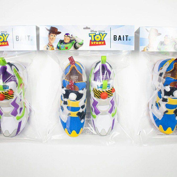 這兩款Instapump Fury OG潮鞋還會利用像是市售玩具的包裝,完全的展...