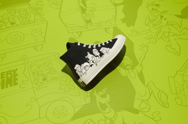 Converse與Scooby-Doo聯名Chuck 70鞋3,280元。圖/C...