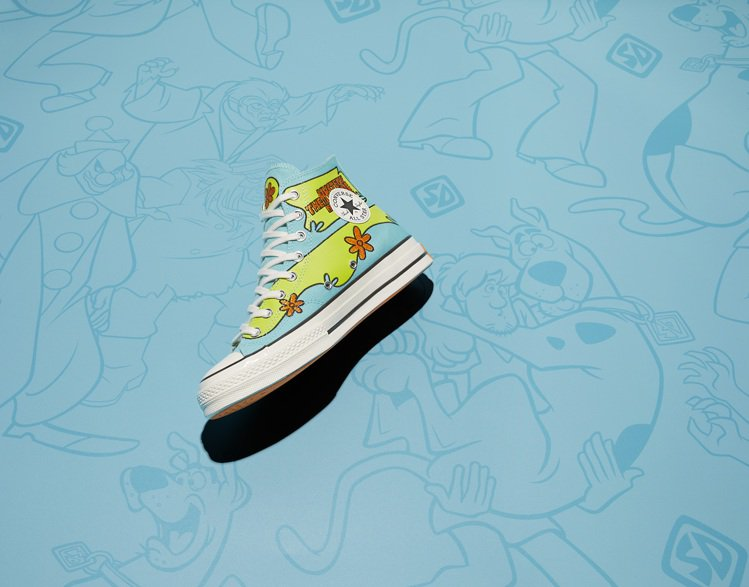 Converse與Scooby-Doo聯名Chuck 70鞋3,480元。圖/C...