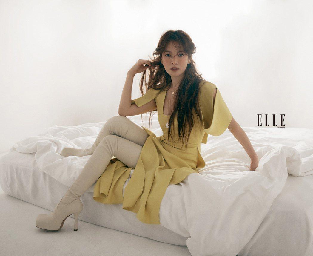 宋慧喬近年積極和華語導演合作。圖/ELLE提供