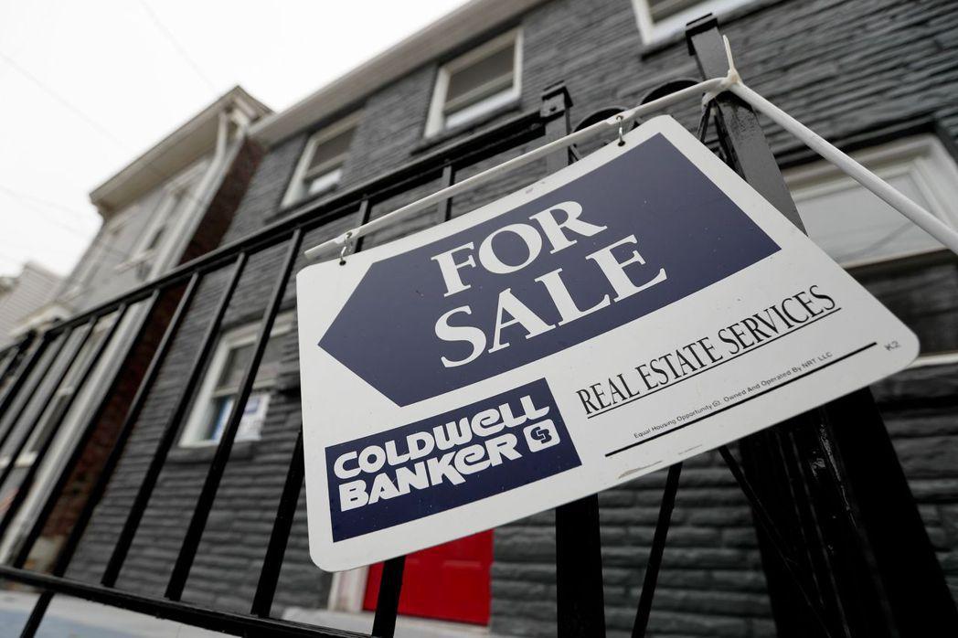 新冠肺炎帶給房地產市場巨大震撼。美聯社