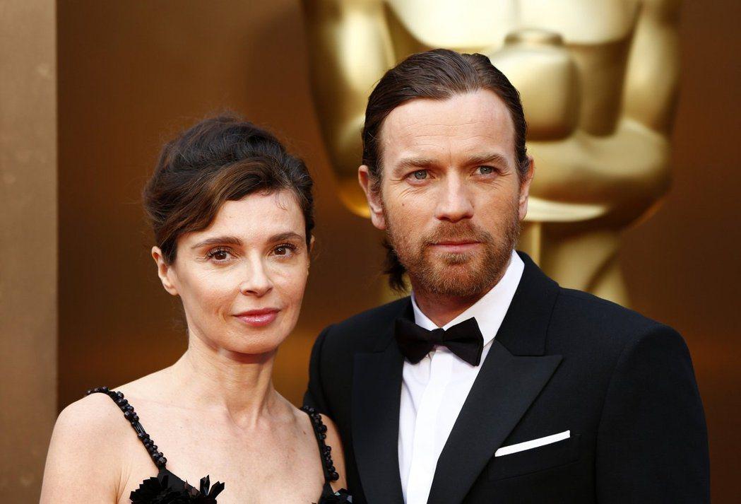 伊旺麥奎格(右)與夏娃已離婚生效。圖/路透資料照片