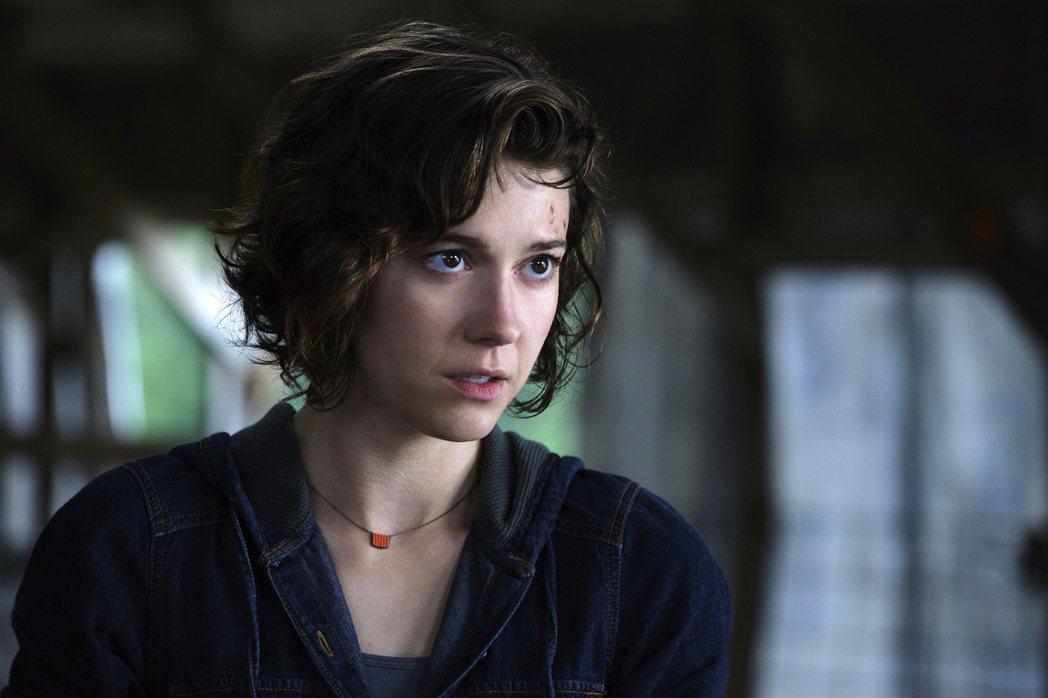 瑪麗伊莉莎白溫絲黛是「雙子殺手」唯一女性要角。圖/摘自imdb