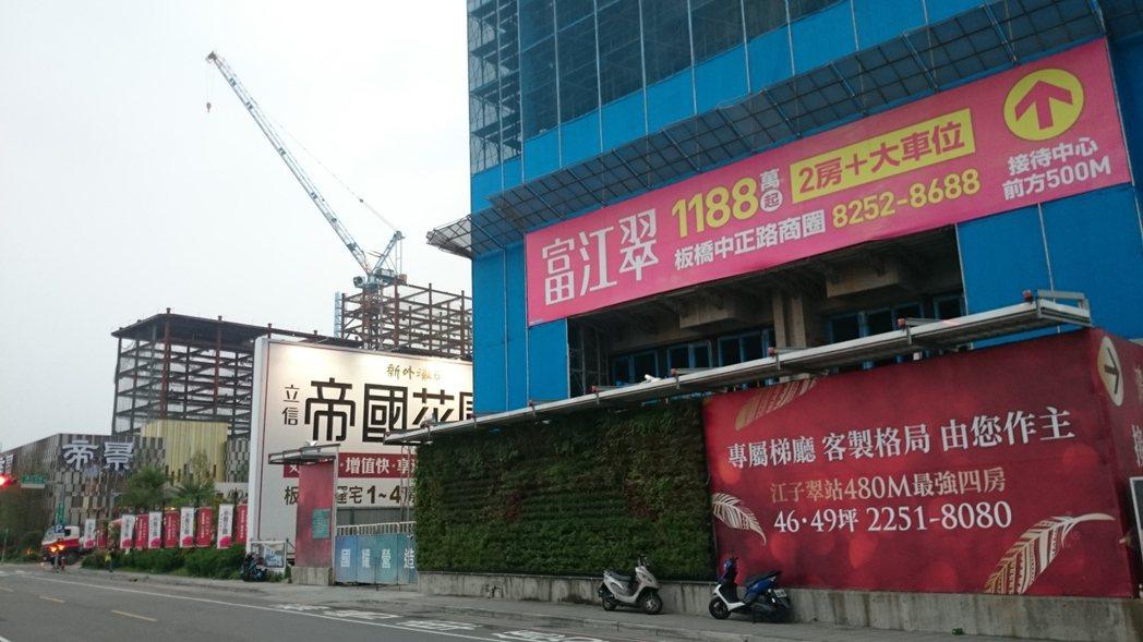 據住展雜誌統計,今年前5個月為止,北台灣各縣市新建案每戶住宅平均總價大多比去年同...