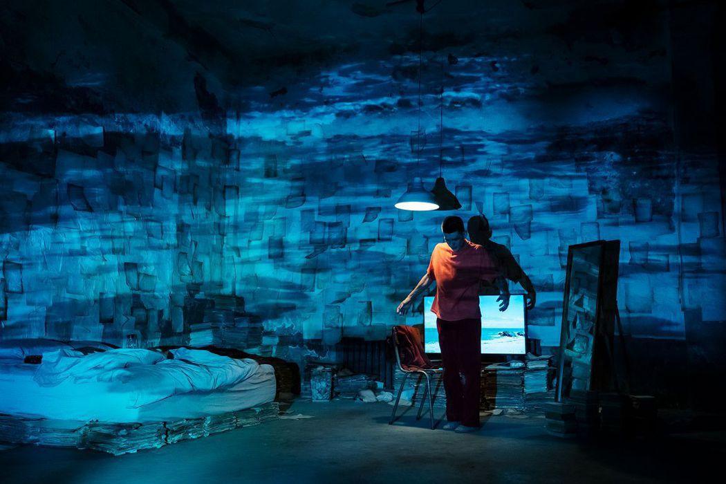 「留給未來的殘影」將以VR影片搭配真人舞蹈的獨特方式呈現。圖/台北電影節提供