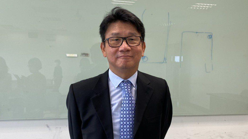 漢磊董事長徐建華。記者李孟珊/攝影