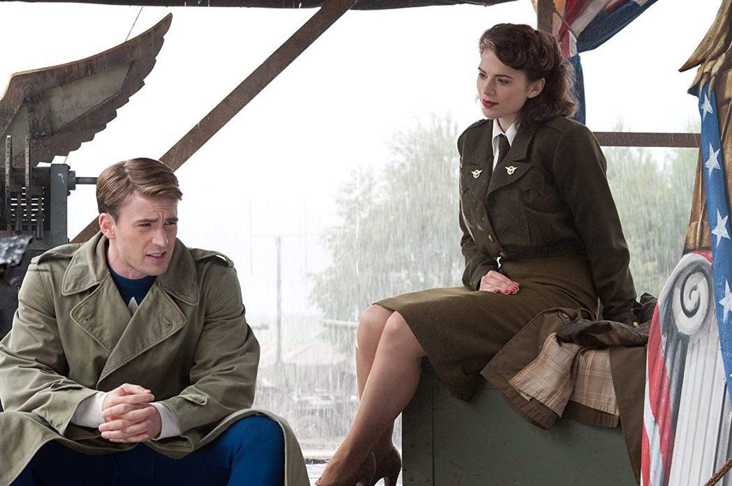 美國隊長與卡特探員最終仍有完美的結局。圖/摘自imdb