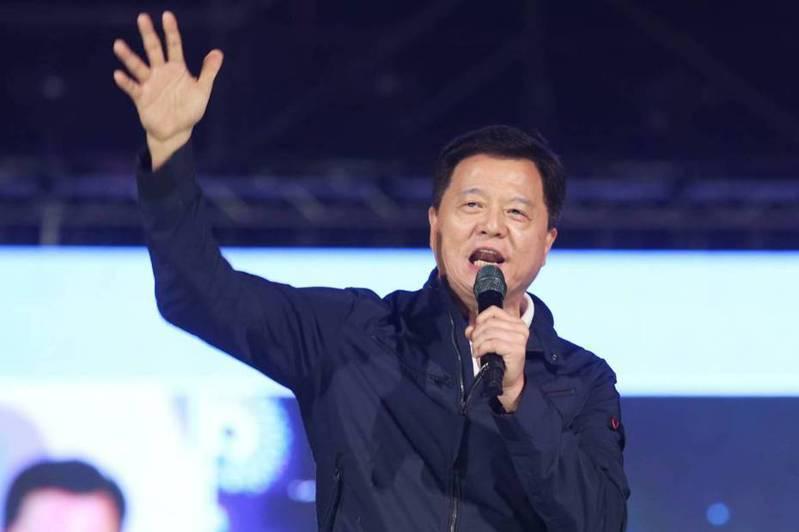 前台北縣長周錫瑋昨批國民黨軟弱。圖/聯合報系資料照片