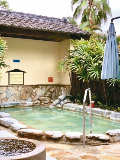 非常日式庭園風的知本老爺酒店,擁有喜愛泡湯者評價很高的溫泉。 圖/陳志光、游慧君