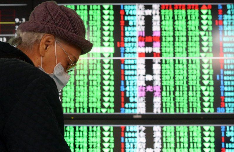 昨夜美股收盤重挫,影響台股跳空開低,指數以11,406.54點,下跌129.23點開出後,指數跌幅隨即擴大至逾250點。圖/聯合報系資料照片