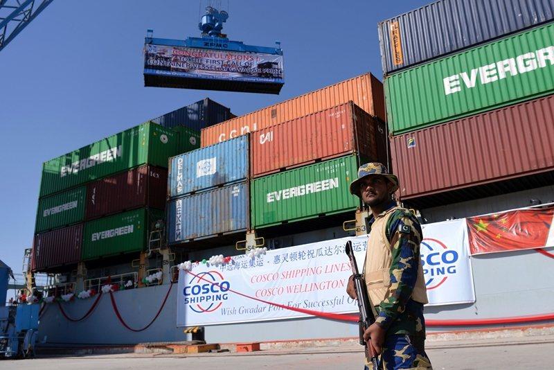 巴基斯坦瓜達爾港,攝於2016年。 圖/法新社
