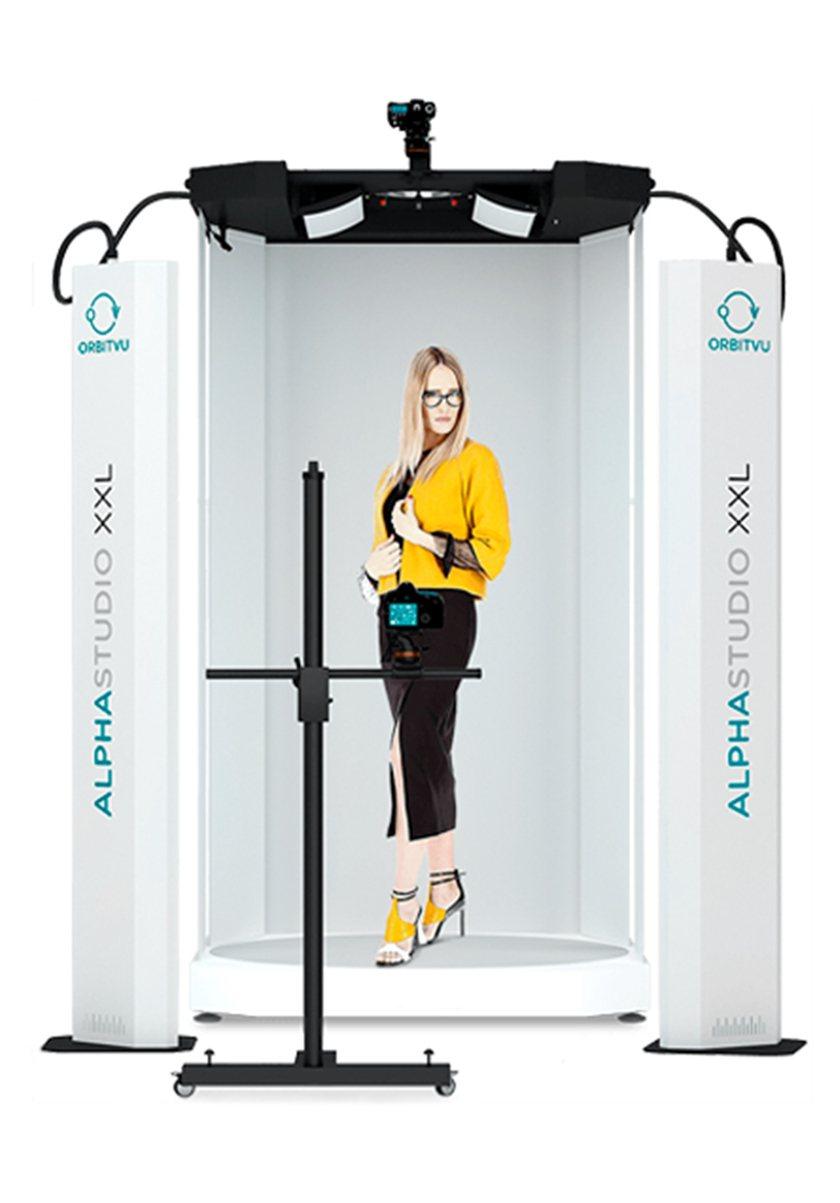 ALPHASHOT XXL針對大型產品拍攝,真人模特兒展示尤其適合服飾產業。 業...