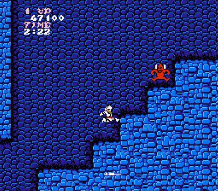 遊戲中的經典敵人「紅惡魔」,牠常常會以高速由高往低俯衝過來撞你,後期關卡更是會一...