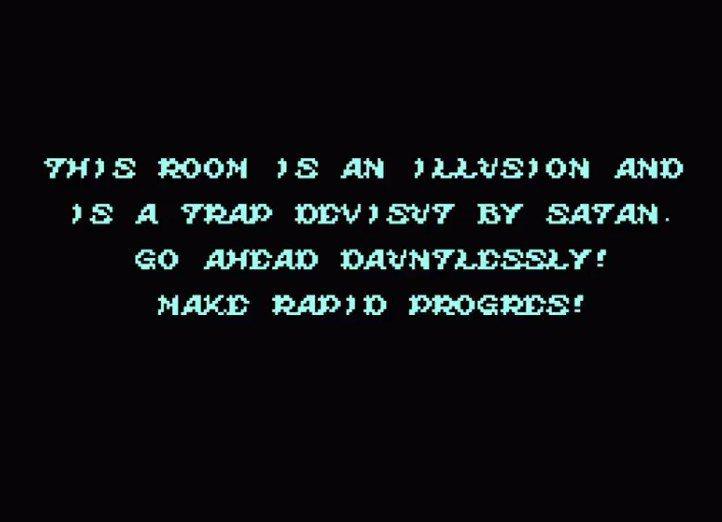 玩家第一次擊敗魔王之後,會看到這串文字,代表前面全都只是熱身而已,真正的好戲第二...