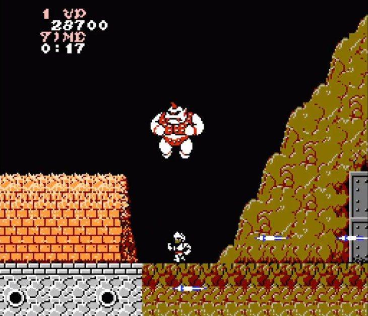 頭目獨角獸巨人,常常會突然往你跳過來,要隨時保持安全距離。