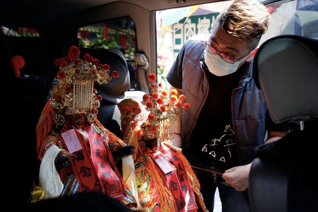 媽祖是臺灣民間信仰中,最具代表性的神祇。 圖/路透社