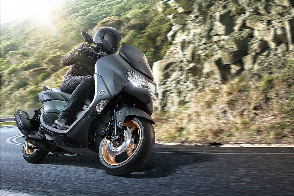 Yamaha NMAX 155導入台灣市場,提供水冷速可達新選擇。 圖/Yama...