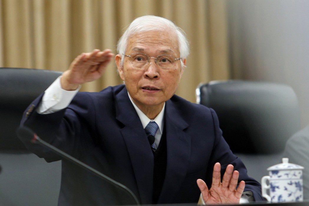 央行總裁楊金龍。 中央社