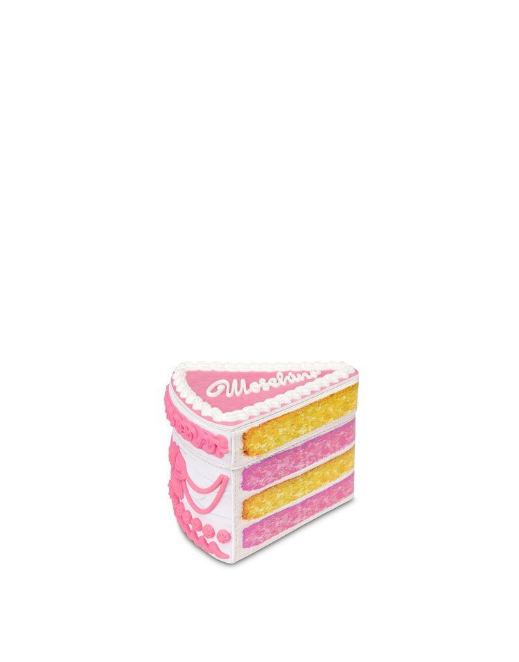 切片蛋糕手拿包,39,800元。圖/MOSCHINO提供