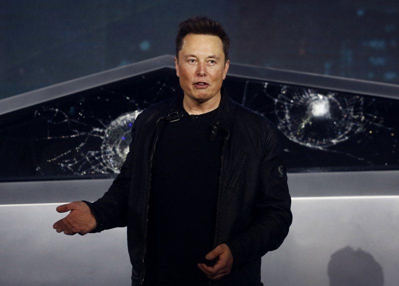 特斯拉(Tesla)執行長馬斯克。美聯社