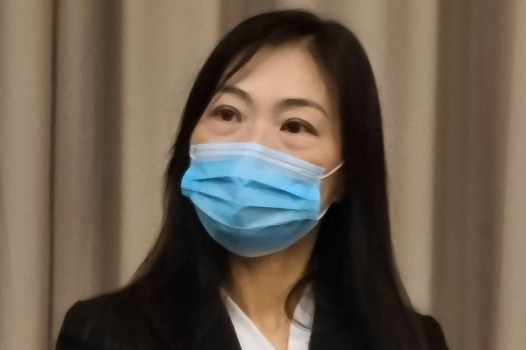 明泰新任董事長黃文芳,為佳世達工業與商業事業部總經理。記者黃晶琳/攝影