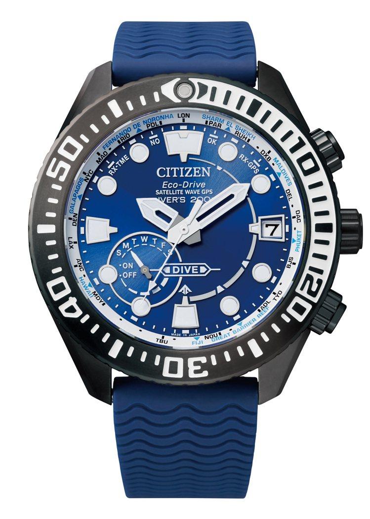 星辰表Promaster系列CC5006-06L潛水表,DLC電鍍黑色加上MRK...