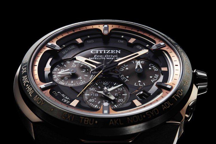 超級鈦旗艦款CC4025-82E腕表,整個表盤就像是一個微型宇宙一樣,有著多達6...