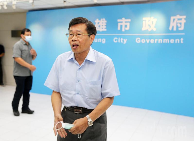 高雄市政府參事楊明州確定接任代理市長,明天上午十時將交接。記者劉學聖/攝影