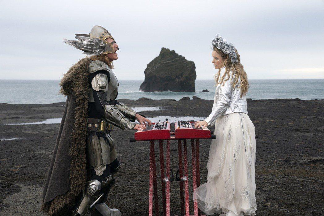 「歐洲歌唱大賽:火焰傳說」劇照。圖/Netflix提供