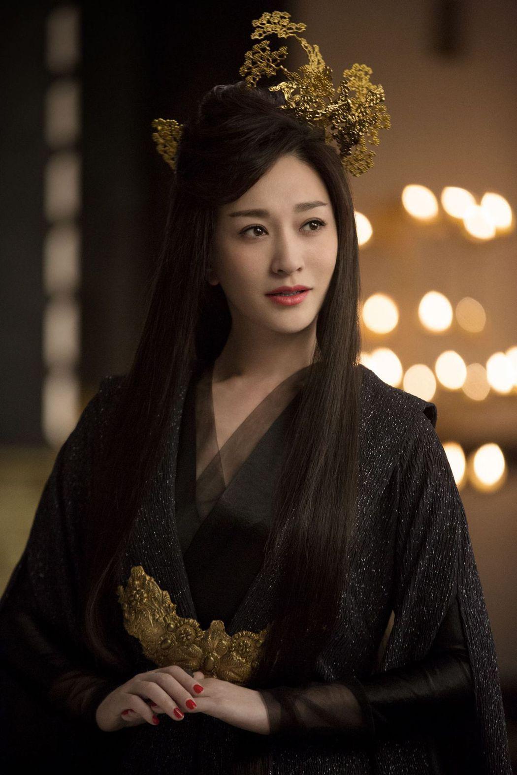 凍齡女神李小冉在「慶餘年」戲中是飾演長公主。圖/中天娛樂台提供