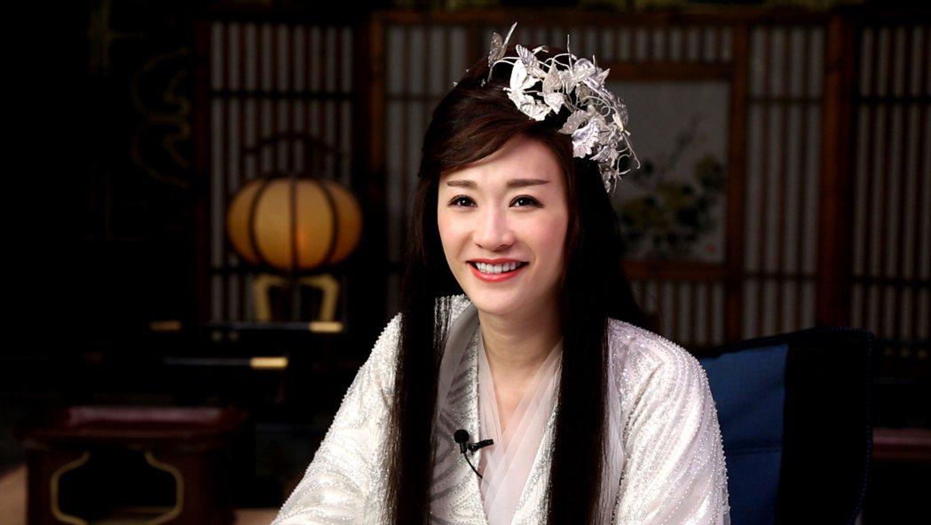李小冉在受訪時盼觀眾在批評長公主時,別忘了她演過的好人角色。圖/中天娛樂台提供