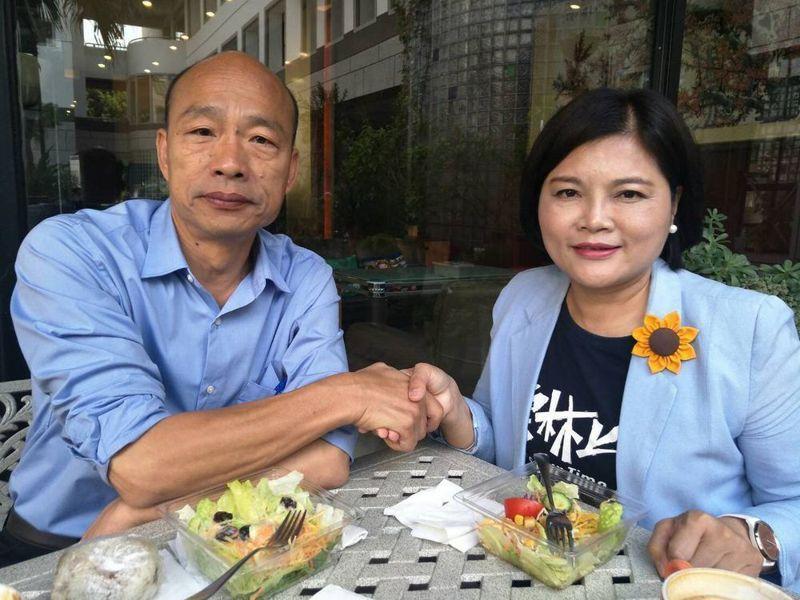 雲林縣長張麗善有意延攬韓國瑜擔任雲林縣政顧問。圖/本報資料照