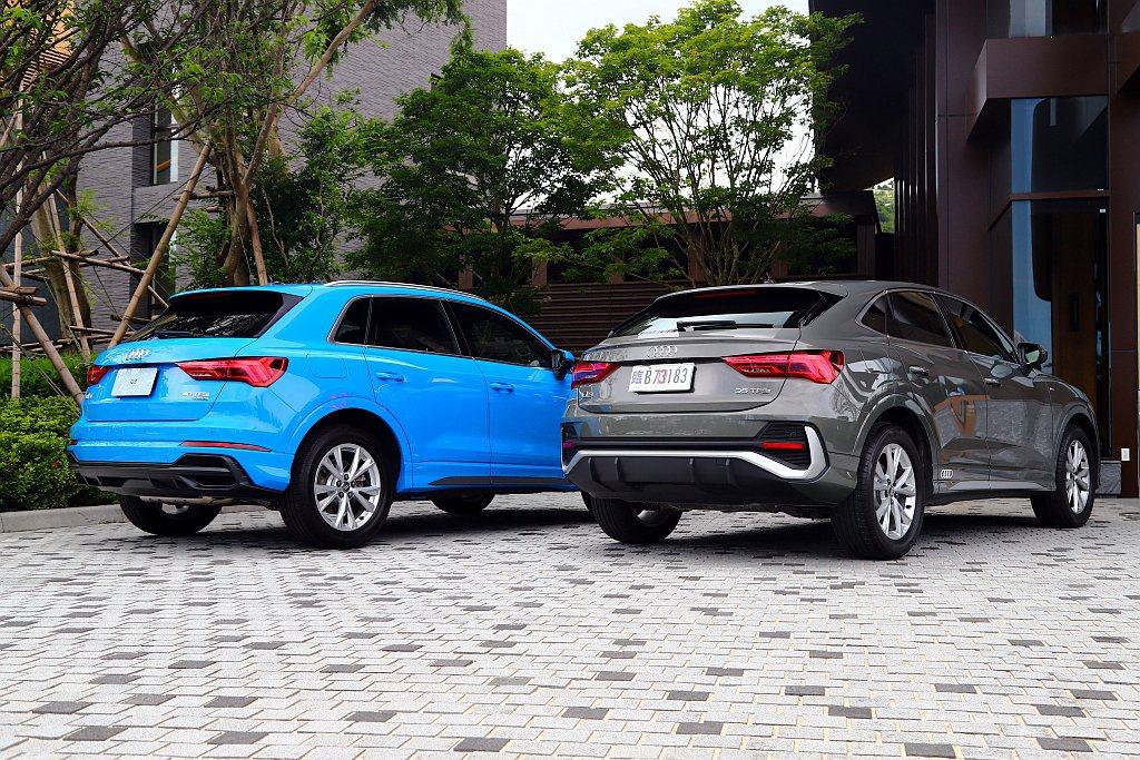 全新第二代Audi Q3休旅車系,不僅導入標準SUV車型連同跑車風格更強烈的Sp...