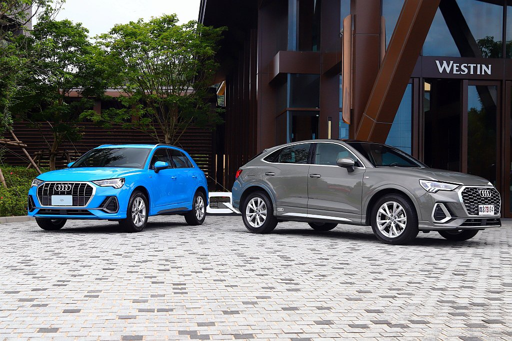 Audi Q3 SUV具備35 TFSI(售價180萬元)、35 TFSI ad...