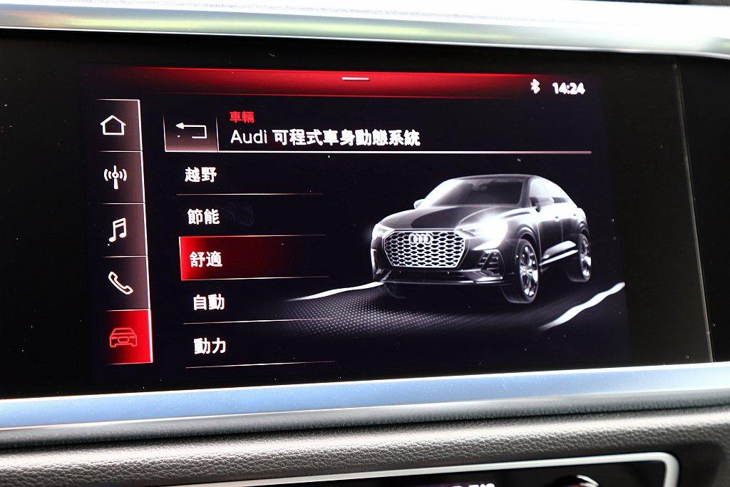 Audi drive select可程式車身動態系統中的「自動」模式就已經很好用...