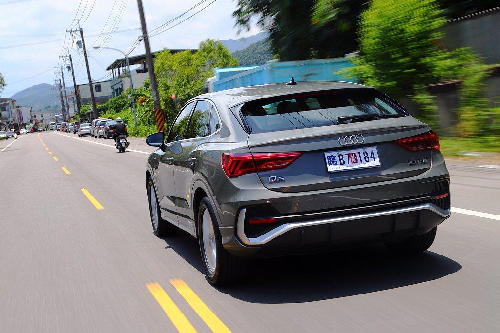 試駕完Audi Q3 Sportback發現搶眼的外型設計只是銷售特點之一,還有...