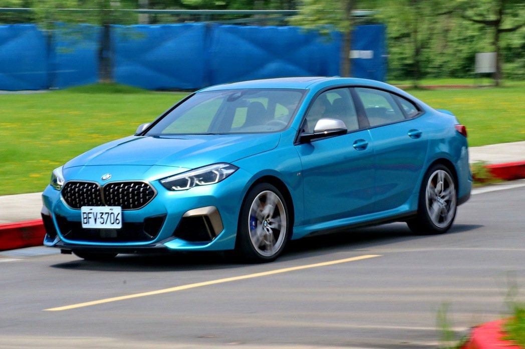M235i xDrive Gran Coupe擁有相當順暢的動力輸出。 記者陳威...