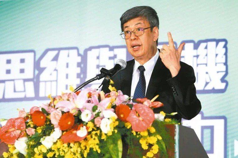 前副總統陳建仁。本報資料照片