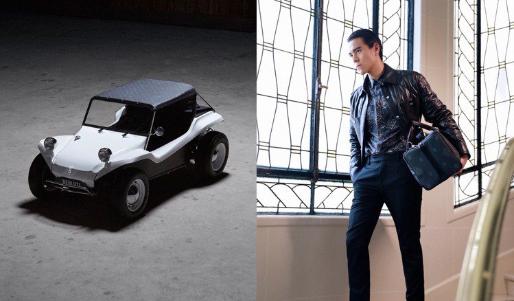 客訂版Berluti BUGGY沙灘越野車所使用的SIGNATURE Canva...