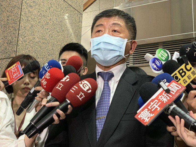衛福部長陳時中今親自主持自付差額醫材協調會議。  記者陳雨鑫/攝影