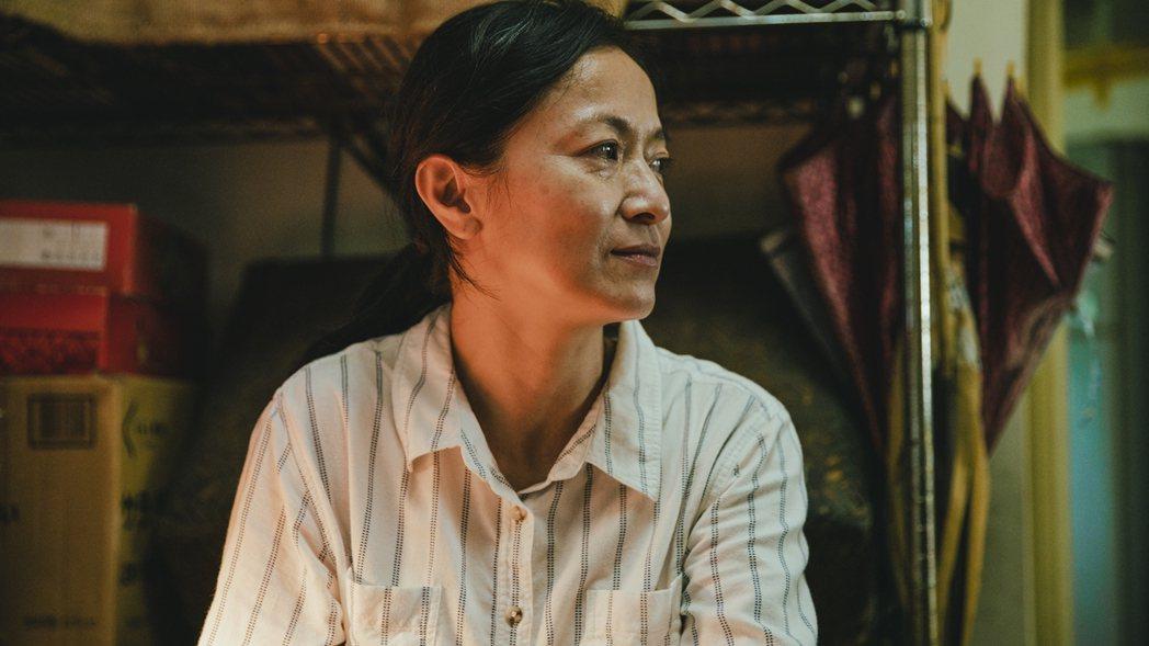 謝瓊煖在「若是一個人」戲中無言無淚的演出,讓導演讚譽有加。圖/華視提供
