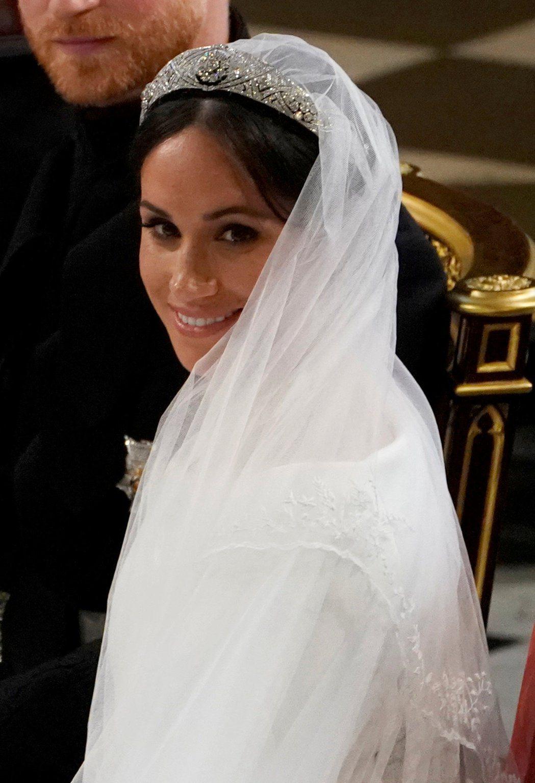 梅根被指才剛嫁進英國皇室沒幾天,就立刻讓大家傻眼。圖/路透資料照片