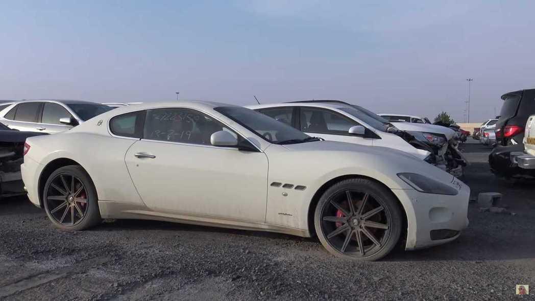 Maserati GranTurismo看來也沒什麼事故。 摘自Supercar...